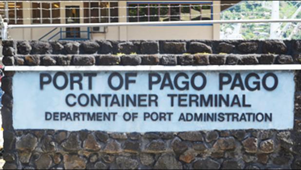 Dept. of Port Administration sign