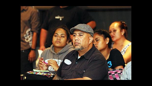 One of the well-known tattooist in American Samoa, Duffy Hudson of Tatau Manaia was present at the Tatau Forum, which officially began the 12th Annual Tisa's Tattoo Festival, held yesterday morning at the ASCC Lecture Hall.
