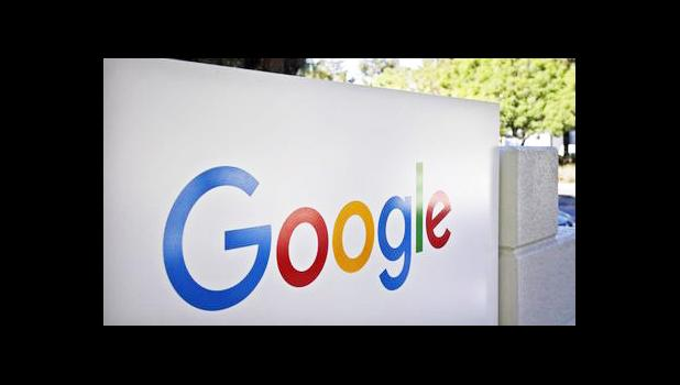 "This Oct. 20, 2015, file photo, shows a sign outside Google headquarters in Mountain View, Calif. Google will start offering ""fact check"" tags next to some news stories in search results in the tech industry's latest effort to combat false and misleading news stories, on Friday, April 7, 2017. People who search for a topic in the regular search engine or the Google News section will see a conclusion such as ""mostly true"" or ""false"" next to news stories that had been fact checked by a participating organiza"