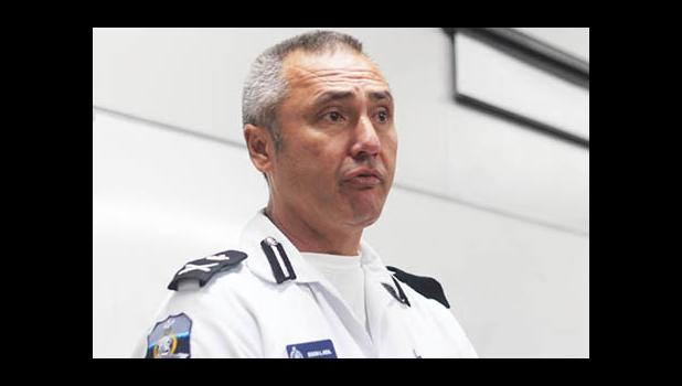 Samoa's Police Commissioner Fuiavailili Egon Keil