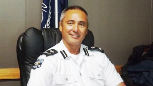 Samoa's Police Commissioner Fuiavailili Egon Keil.