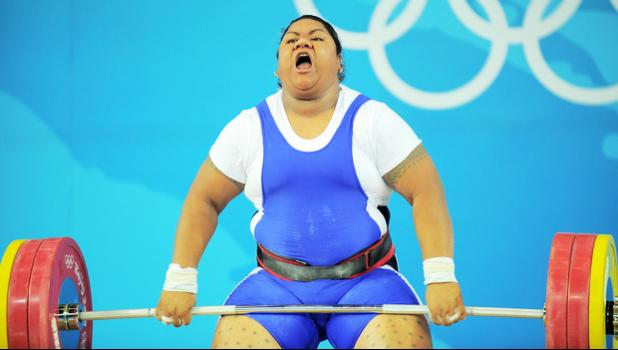 Ele Opeloge initially finished in fourth place in the women's over 75kg division at the 2008 Olympic Games. [Photo: AFP via RNZI]