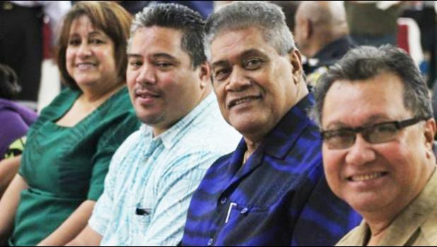 American Samoa Drugs Council including Acting Chief of Customs, Keith Gebaur [Photo: RNZ Pacific / Monica Miller]