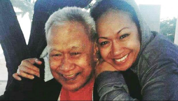 Eti Saaga and his daughter Terri. [Photo: Monica Miller]