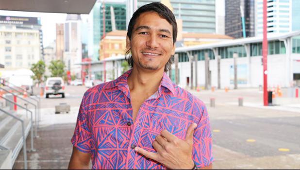 Keoni Mahelona, Te Hiku Media [Photo: RNZ Pacific Sara Vui-Talitu]