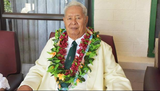 The late Hon. Tuiloma Lameko Gae'e [Photo: Samoa Govt]