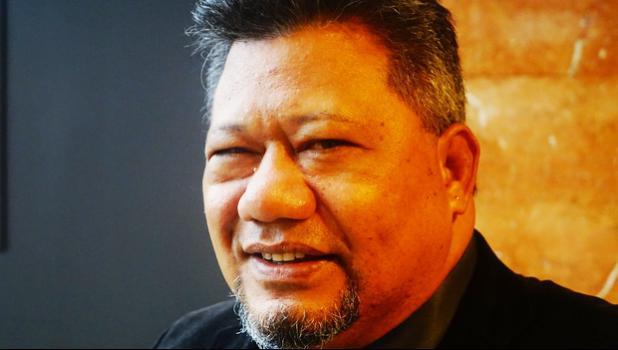 Leausa Dr Take Naseri, Director General, Ministry of Health Samoa [hoto: Alex Perrottet / RNZ]