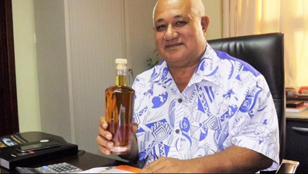 Samoa's Minister of the Scientific Research Organisation of Samoa, Lopao'o Natanielu Mu'a  [Photo: RNZ Pacific /Tipi Autagavaia]