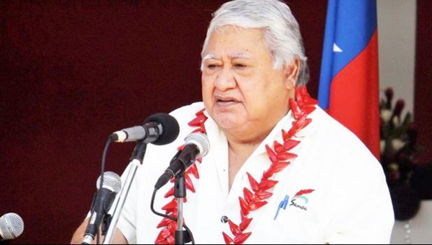Samoa's PM Tuilaepa Sailele Malielegaoi [Photo: RNZI Autagavaia Tipi Autagavaia]
