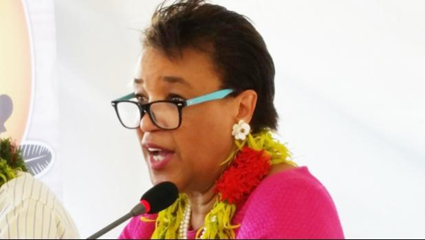 Commonwealth Secretary General Patricia Scotland. [Photo: RNZI/Sally Round]