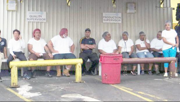 StarKist Samoa workers [Photo: supplied via RNZI]