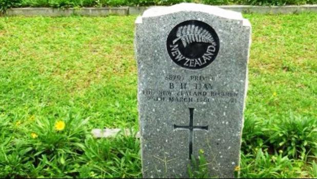 31 soliders who were killed in Malaysia and Vietnam and have been lying in non-commonwealth war cemetaries [Photo: Supplied: Bob Davies via RNZI]