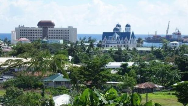 View of Apia
