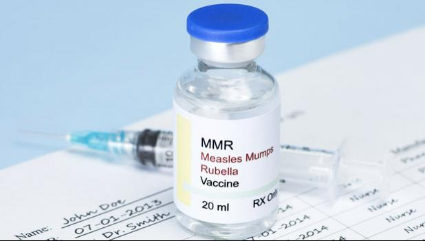 Measles, MMR vaccine (file photo)
