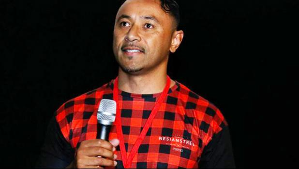The co-director of the Pasifika Film Festival, Nigel Vagana [Photo: Pasifika Film Festival]