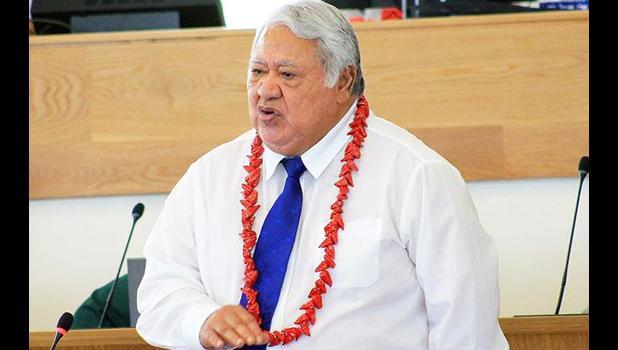 Prime Minister Tuilaepa Sailele Malielegaoi.