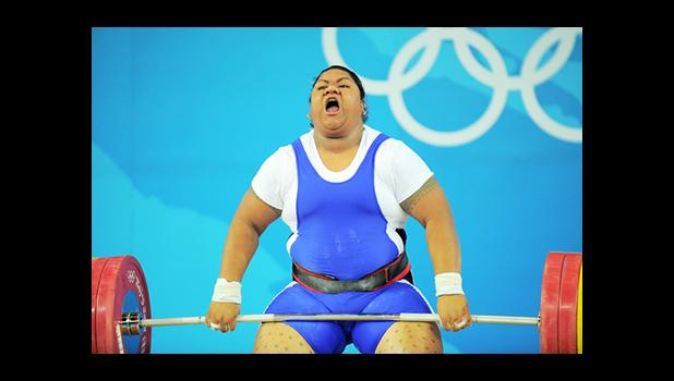 Ele Opeloge initially finished in fourth place in the women's over 75kg division at the 2008 Olympic Games. [courtesy RNZI]