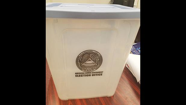 new plastic see-through ballot containers