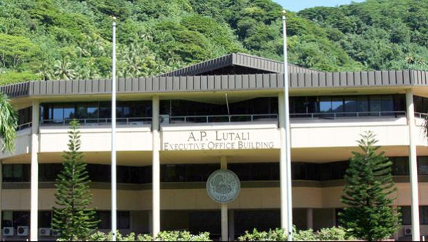 Americsn Samoa Executive Office Building