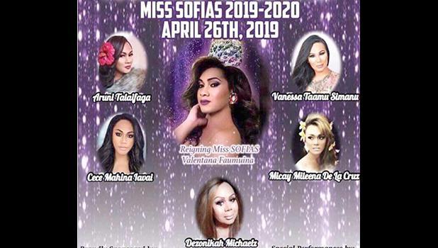 Miss SOFIAS 2019 contestants