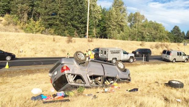 Fatal car accident washington state