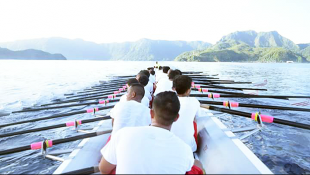 For the first time in the history of Fealofani, the crew comprises 23 new boys, most of whom are tupulaga.  [Courtesy photo]