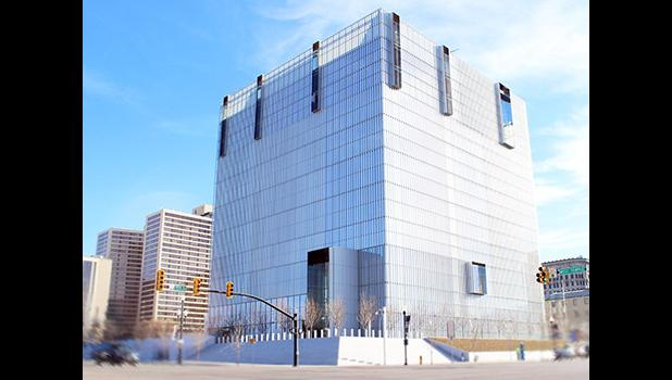 Federal District Court Building in Salt Lake City, Utah.