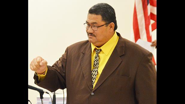Vice Speaker of the House, Rep. Fetu Fetui Jr