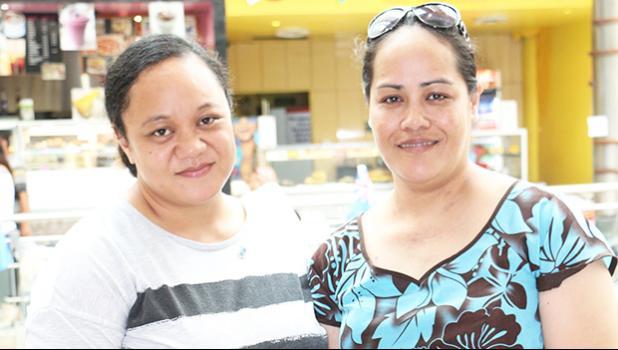 Tikeri Afalava Anesi and Mary Aseta Mataia