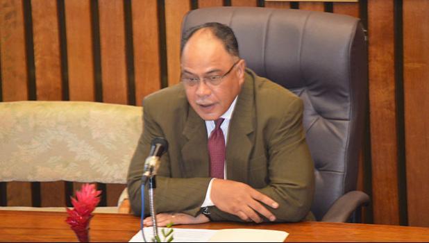 Associate Justice Fiti Sunia