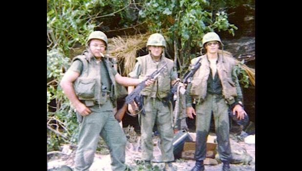 Marine Scout Sniper Fofo Tuitele in 1975