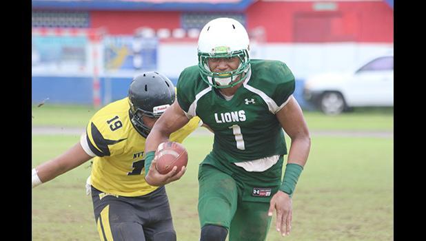 Leone Lions quarterback, Fa'alili Fa'amoe