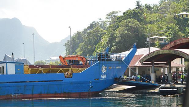 The Samoa government owned MV Fotu-O-Samoa