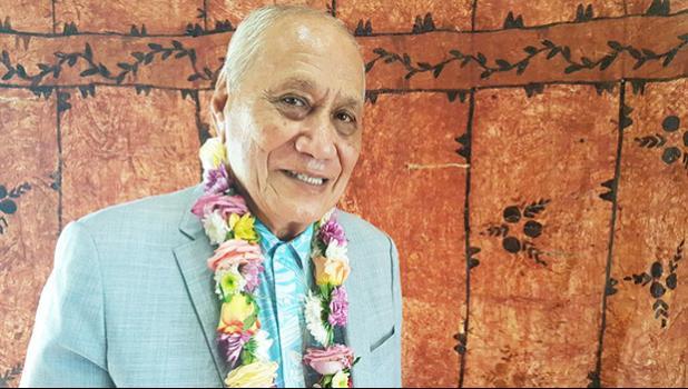 Samoa's former O le Ao o le Malo - or head of state - Tui Atua Tupua Tamasese Efi.