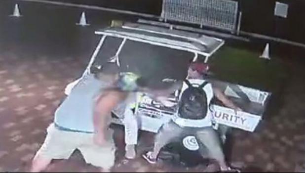 Surveillance images captured the brutal beating in September.