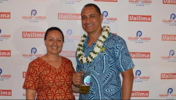 G.H.C. Reid, Co. Ltd, General Manager, Cherith Lober and StarKist ASG liaison, Taotasi Archie Soliai