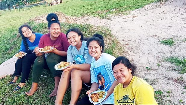 young women of the Pago Central Stake
