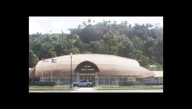 The Gov. Rex Lee Auditorium where the Fono will meet in joint session on Monday for the State of the Territory address. [SN file photo]