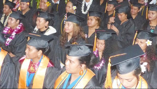 American Samoa Community College graduates