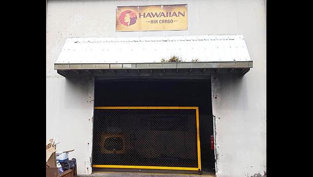 Hawaiian Airlines cargo facility