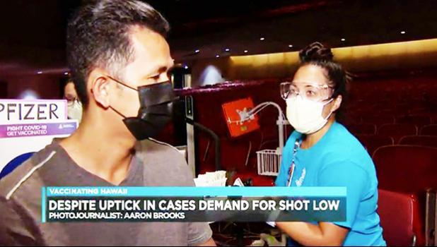 Vaccine site in Honolulu Hawaii