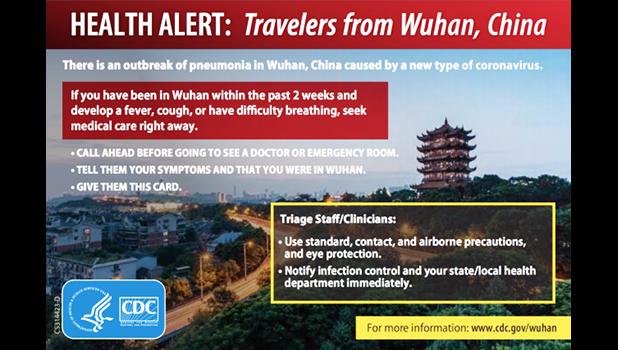 CDC health alert