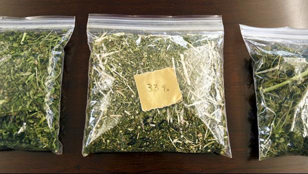 packages of hemp