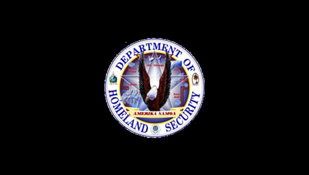 American Samoa Homeland Security logo