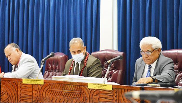 3 Representatives during yesterday's hearing