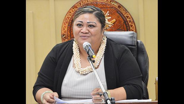 DHR director Lynn Pulou- Alaimalo