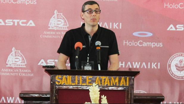 Hawaiki Submarine Cable LP, executive director and chief operations officer, Ludovic Hutier,