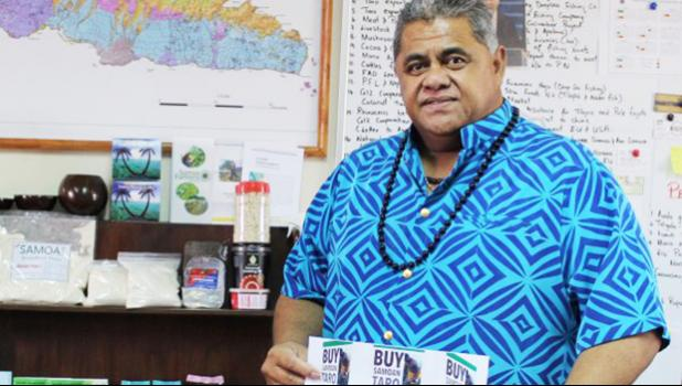 WORK IN PROGRESS: Minister of Agriculture and Fisheries and Scientific Research Organizations of Samoa (S.R.O.S), La'auli Leuatea Polata'ivao.  [Samoa Observer]