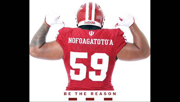 Three-star defensive tackle Sio Nofoagatoto'a