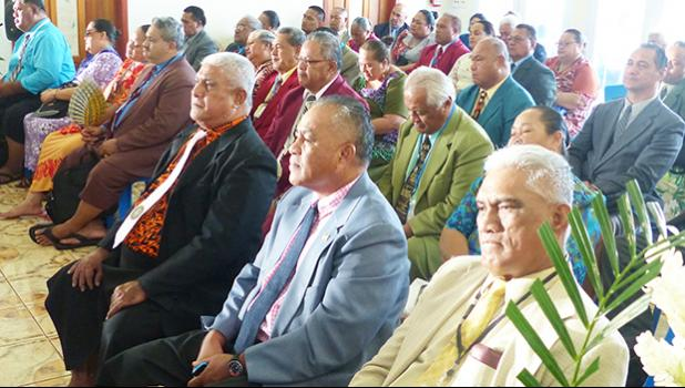 Delegates to the 32nd conference or Fono Tele of the Congregational Christian Church of American Samoa